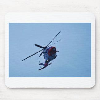 UK Coastguard helicopter. Mouse Mat