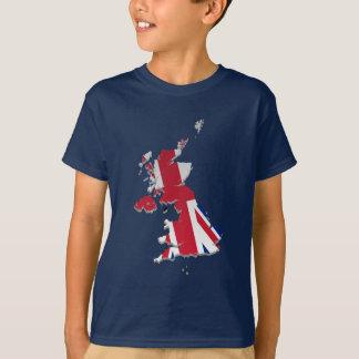 UK & Crown Dependencies Flag Map_4 T-Shirt