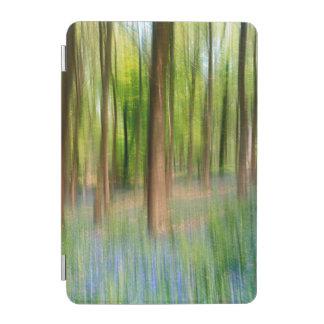 UK England | Bluebell Oak Woodland in Springtime iPad Mini Cover