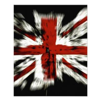 UK England Flag Full Color Flyer