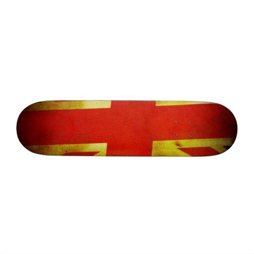 UK England Flag Skate Board Decks