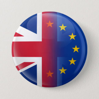 UK – EU membership referendum 2016 7.5 Cm Round Badge
