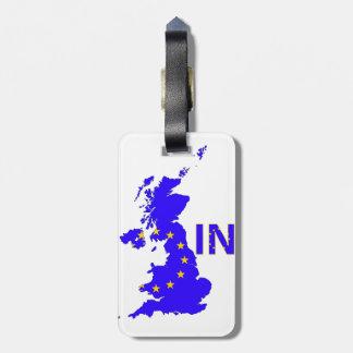 UK – EU membership referendum 2016 Luggage Tag