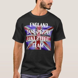 uk-flag[1], ENGLAND DAVE PEPPER BAND STREET TEAM T-Shirt