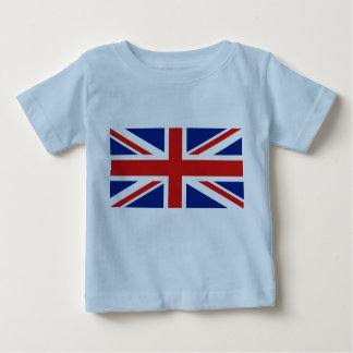 UK Flag and Map Baby T-Shirt