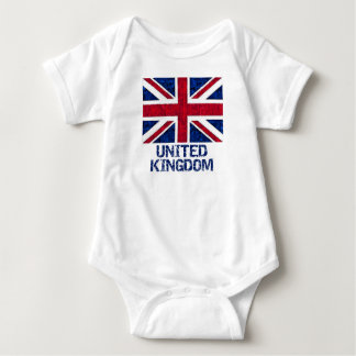 UK FLAG BABY BODYSUIT