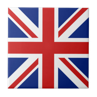 UK Flag Ceramic Tile