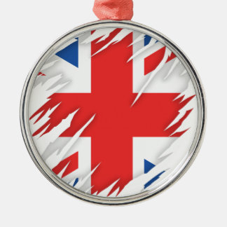 UK Flag Christmas Ornament