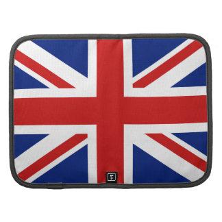 UK Flag Folio Organizer