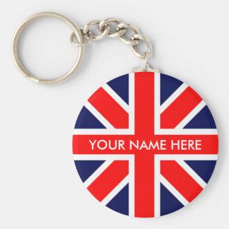 UK flag. Key Chain