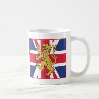 UK Flag Lion Mugs