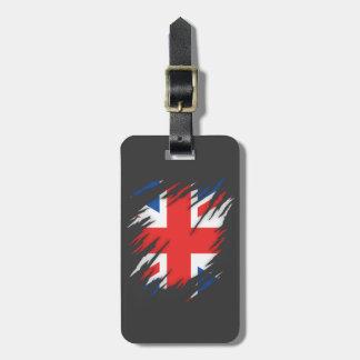 UK Flag Luggage Tag