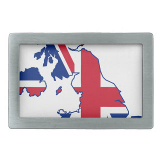 UK Flag Map Belt Buckles