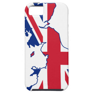 UK Flag Map Case For The iPhone 5