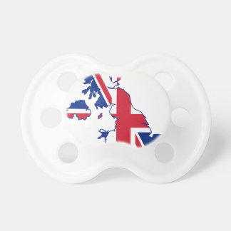 UK Flag Map Dummy