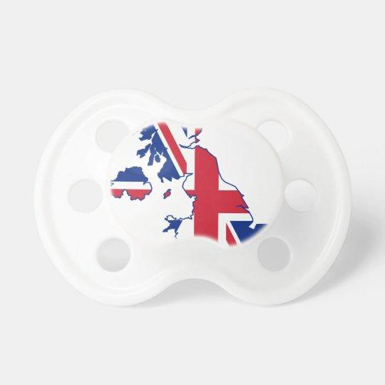 UK Flag Map Dummy