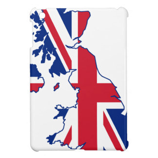 UK Flag Map iPad Mini Case