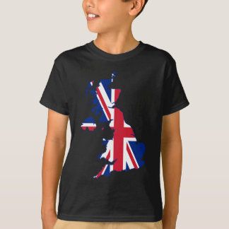 UK Flag Map T-Shirt