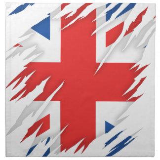 UK Flag Napkin