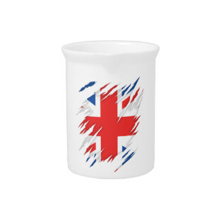 UK Flag Pitcher