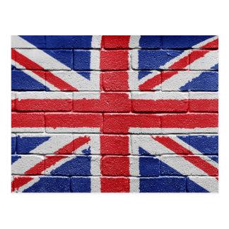UK Flag Postcards