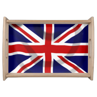 UK flag Serving Tray