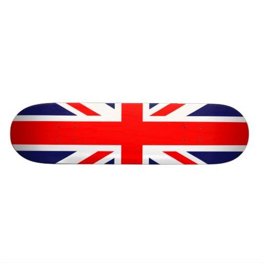 UK Flag Custom Skate Board