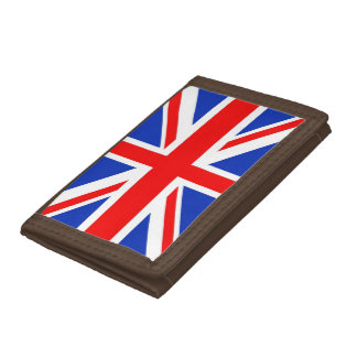 UK Flag Trifold Wallets