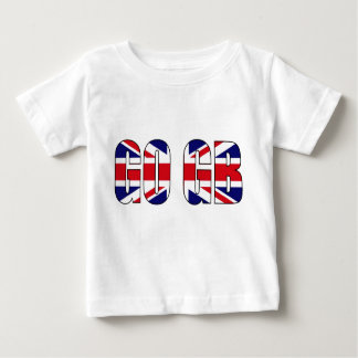 UK flag union jack baby tshirt