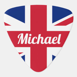 UK Flag / Union Jack | Personalised Guitar Pick