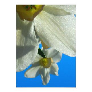 UK Flower 13 Cm X 18 Cm Invitation Card