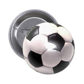 UK Football Ball 6 Cm Round Badge