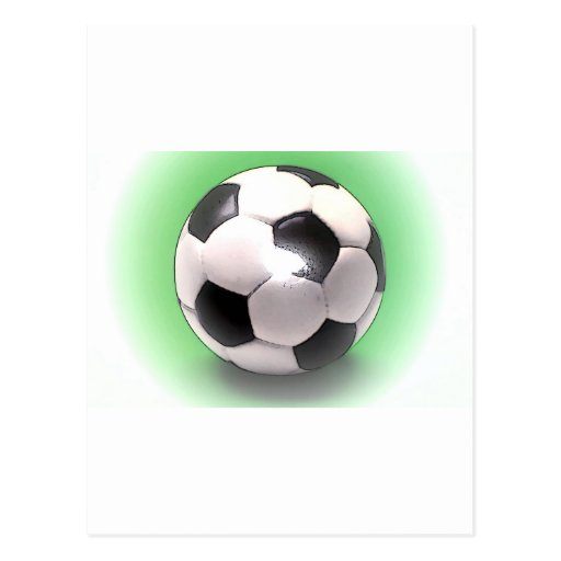 UK Football Ball Post Cards