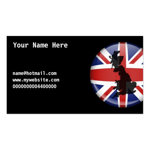 UK Globe, Your Name Here, name@hotmail.comwww.m... Business Card Templates