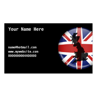 UK Globe, Your Name Here, name@hotmail.comwww.m... Pack Of Standard Business Cards