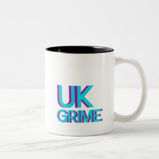 uk grime music Two-Tone coffee mug