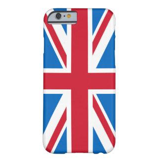 UK iPhone Case - Union Jack with Scottish Blue