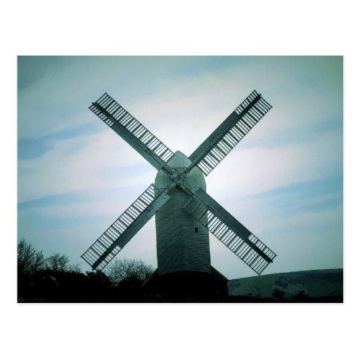 (UK) JJ Windmill Postcard
