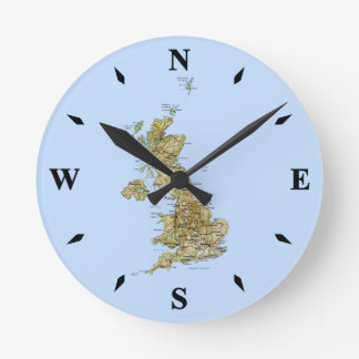 UK Map Clock