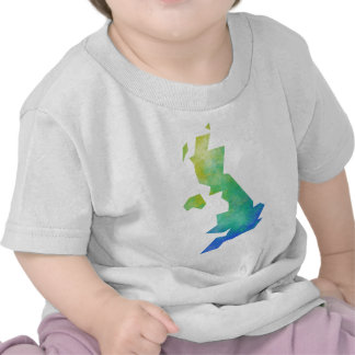uk-map-modern.png tee shirt