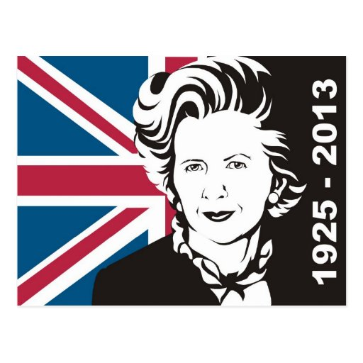 UK mourns Margaret Thatcher, England's Iron Lady Post Cards