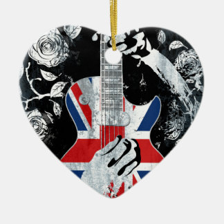 UK Music Guitar Life Christmas Ornament