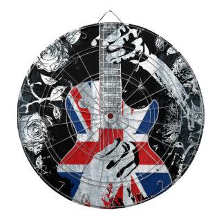 UK Music Guitar Life Dart Board