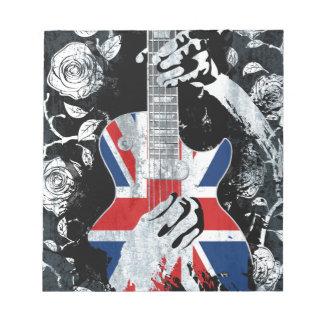 UK Music Guitar Life Notepad