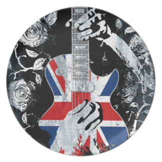 UK Music Guitar Life Plate