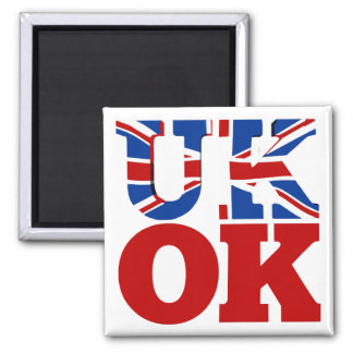 UK OK! Better Together Magnet