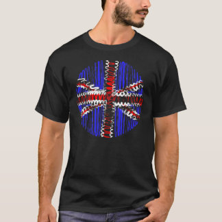 UK on Black Tee Shirt