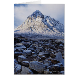UK,Scotland,Highlands,Buchaille Etive Mor Card