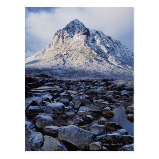 UK,Scotland,Highlands,Buchaille Etive Mor Postcard
