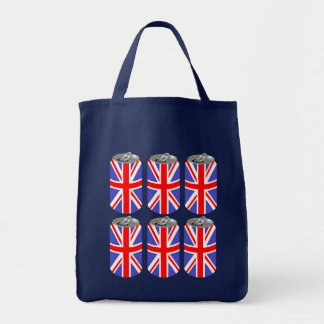 UK Six Pack Grocery Tote Bag